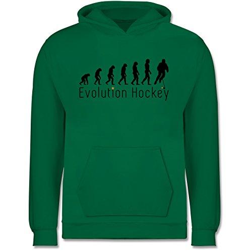 Shirtracer Evolution Kind - Evolution Hockey - 12-13 Jahre (152) - Grün - JH001K - Kinder Hoodie