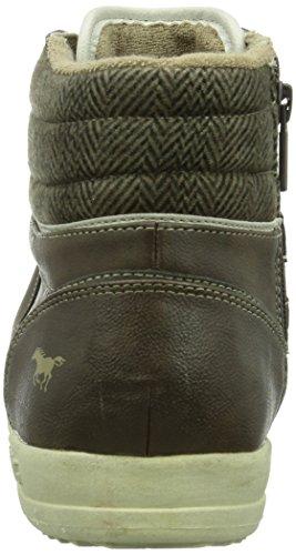 Mustang Herren Hohe Sneakers Braun (32 dunkelbraun)