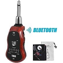 TONOR Amplificadore de Auriculares de Guitarra Eléctrica Recargable Cable Carga USB Altavoz Cinco Efectos Incorporados Guitarra