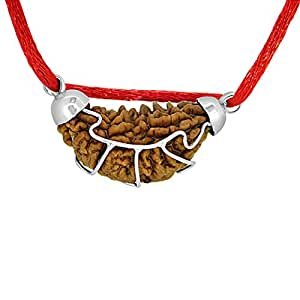Arihant Gems & Jewels Rudraksha 1 Mukhi Indian Rudraksha & Certified | One Faced Rudraksha