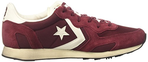 Converse Auckland Racer Ox, Sneaker a Collo Basso Unisex-Adulto Maroon/Off White