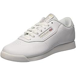 Reebok Princess, Zapatillas de Gimnasia para Mujer, Blanco (White 0), 39 EU