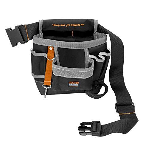 myonly - Cinturón Profesional para electricistas con 7 Bolsillos para Herramientas de jardín, electricistas, carpinteros, fontaneros, técnicos y Pintores
