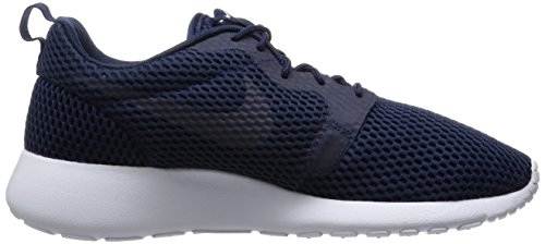 Turnschuhe noite Hyp Meio Nike Azul Um Marinho Marinha Herren Roshe branco meia Br qSw8HXA