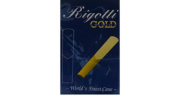 Rigotti ance sax tenore Gold Jazz 2.5 Strong box da 10
