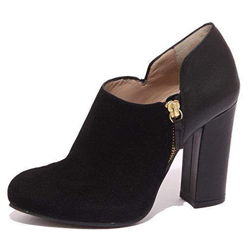 8717P decollete UNISA SACRA nero scarpa donna shoe woman [38]