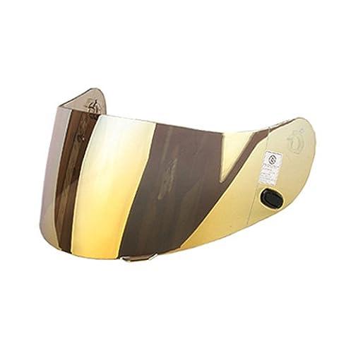 HJC casque visier (RTS Or miroir) Gold HJ-09 / AC-12, CL-15, CL-16, CL-SP, CS-R1, CS-R2, FS-10, FS-15, FG-15, IS-16, CL-17
