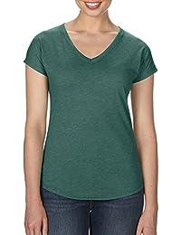 Anvil - T-shirt - Femme vert Heather Dark Green L