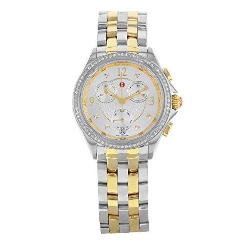 MICHELE Belmore Mww29b000006deux tons en acier inoxydable à quartz montre pour femme