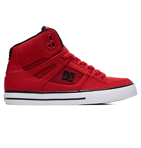 DC Shoes Pure WC TX SE - High-Top-Schuhe für Männer ADYS400046, Red, 48.5 EU - Rot Dc-high-tops Schuhe