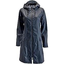 Rains Chaqueta Impermeable Para Mujer Color Azul