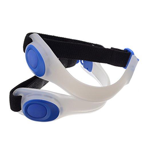 Riflettore LED Clip Luminoso Clip Sport Esterno di Luci Lampeggianti di Avvertimento Scarpe di Sicurezza Clip per Notte Corridori Joggers Escursionisti Motociclista 1 Paio - OUTERDO