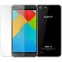 Prevoa ® 丨PROTECTOR de PANTALLA CRISTAL TEMPLADO para Cubot X10 Smartphone --