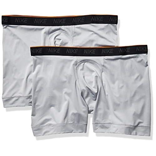 Nike Men's Dri-Fit Boxer Briefs, Pack of 2