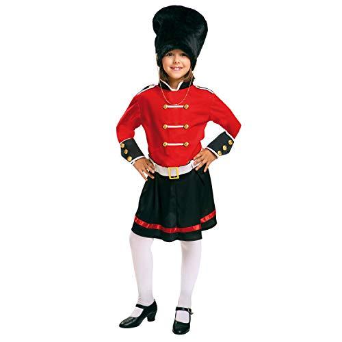 Englisch Kostüm - My Other Me Englische Garde-Kostüm für Mädchen (viving Costumes) 10-12 años