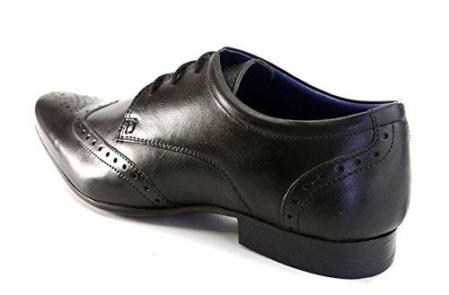 Silver Street , Chaussures de ville à lacets pour homme Noir