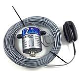 500 Watt 32m XL Multiband Dipol endgespeist 1:9 Balun EZwire 10m - 160m L:16,2M