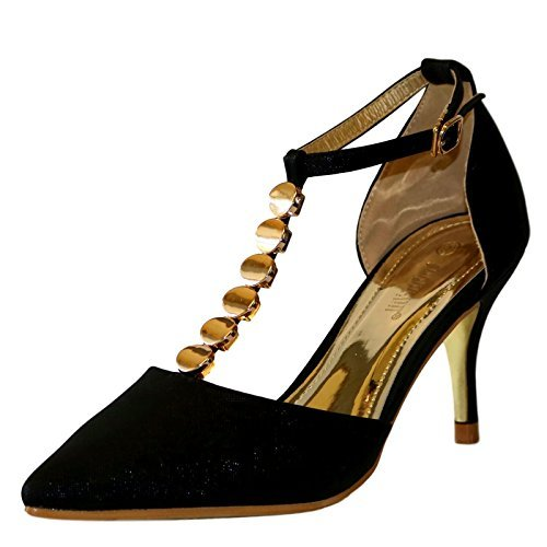 Rock On Styles New Ladies Ankle Strap Party Prom Evening Low Mid...