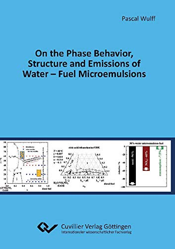 On the Phase Behavior, Structure and Emissions of Water - Fuel Microemulsions (English Edition)