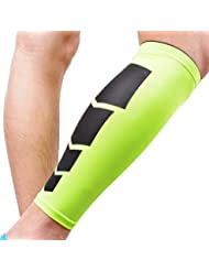 URIJK Manchon de Jambe Genouillère de Compression Ligamentaire Protection pour Basketball volleyball Course