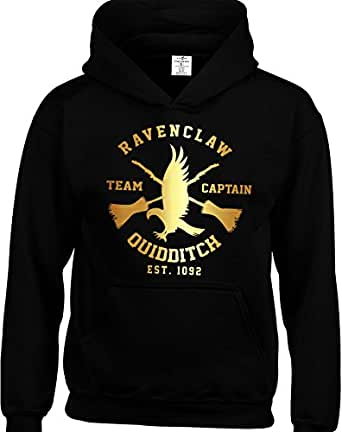 Eat Sleep Shop Repeat Inspired by Ravenclaw Hoodie Harry Potter Quidditch Team Children Hoodies Available from 3 to 15 Years Included.