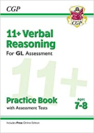 11+ GL Verbal Reasoning Practice Book & Assessment Tests - Ages 7-8 (with Online Edit