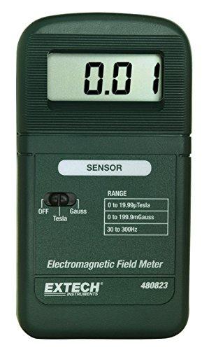 Extech Messgerät für elektromagnetische Feldstärke und extreme Niederfrequenz, 1 Stück, 480823 (Strahlung Der Frequenz Meter)