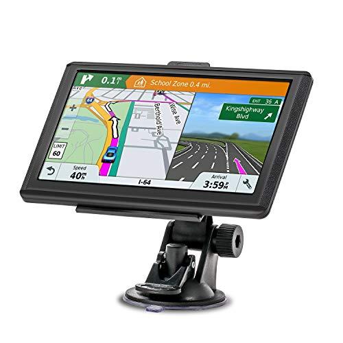 ixMart GPS Navi Navigation 2019 7 Zoll Touchscreen Lebenslang Kostenloses Kartenupdate 128M/32GB 48 Karten für Europa für Auto PKW LKW KFZ (Mehrsprachig) ()