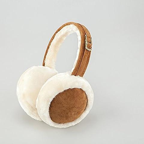 XMQC*Gli uomini e le donne calde auricolari pieghevoli Insiemi di inverno cappucci in pelliccia 1 coppie Clip orecchio orecchio orecchio licenze per pacchetti , la sua scheda