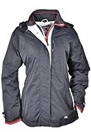 Brigg - Damen Freizeit Jacke mit abnehmbarer Kapuze, Winddicht, Wasserdicht, Atmungsaktiv, F/S (10 578 501)