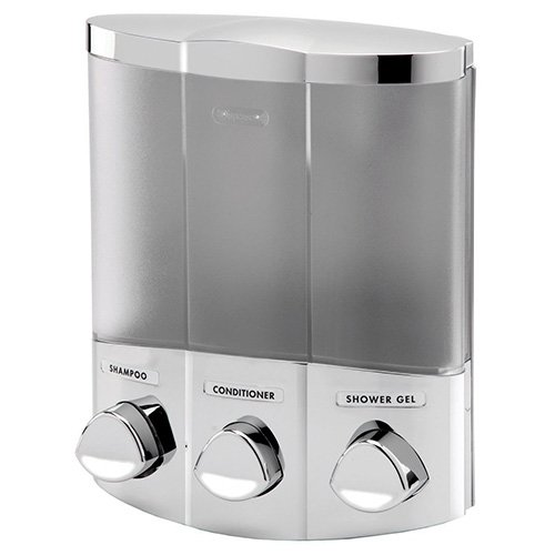 Aviva Trio Chrome Soap Dispenser by Aviva -