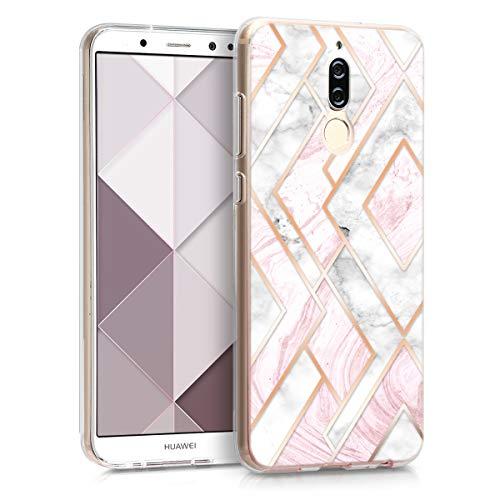 kwmobile Huawei Mate 10 Lite Hülle - Handyhülle für Huawei Mate 10 Lite - Handy Case in Gold Kupfer Beige