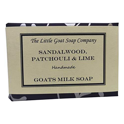 The Little Goat Soap Company sandalo, patchouli & lime capre latte sapone