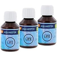 3 Botellas Kefir de Agua Concentrado 100 ml sin azúcar, -Produce: 1 litro de kéfir de agua o de 1 a 3 litros de zumo de frutas