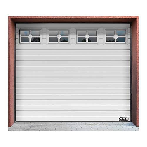 MSW-Puerta-de-Garaje-Seccional-GD2580-White-Abertura-2500-x-2125-mm-Juntas-resistentes-4-Secciones-4-Ventanas-Blanco