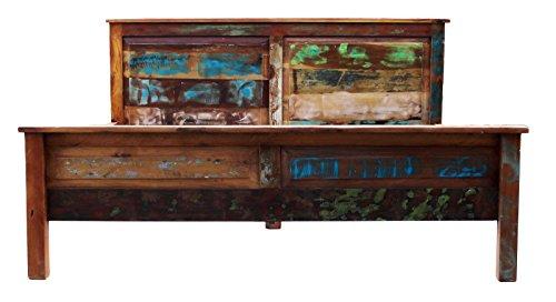 Sit Möbel Riverboat 9100-98 Bett, Mangoholz, Natur, 194 x 105 x 10 cm