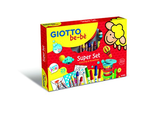 Giotto 466900.0 - my be-bè super set completo per colorare