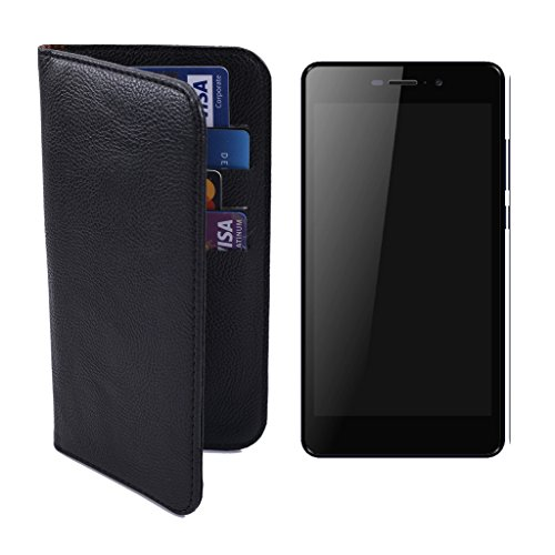Shopme PU Leather Wallet Multi Utility Flip cover for i-Smart IS-52i Xtraa (Black)( 4 Card Slots,1 Cash Pocket,PU Leather, Protect from Water Spillages, Scratches, Premium)  available at amazon for Rs.199