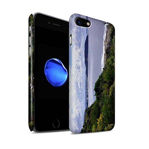 STUFF4 Matte Snap-On Hülle / Case für Apple iPhone 8 / Küste Muster / Britischen Küste Kollektion Küste
