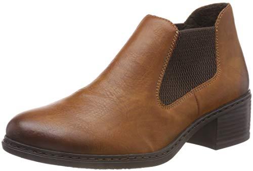 Rieker Damen 57690 Chelsea Boots, Braun (Cayenne/Brown 24), 38 EU -