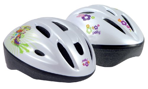 polly-pocket-970069-2-casque-flower-power-enfant-vert-orange-lilas-blanc-46-52