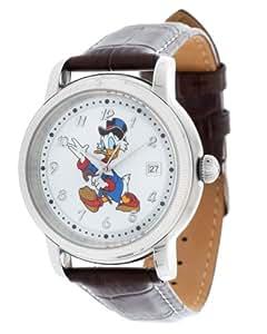Disney Hommes Montre Picsou brun foncé DI-094491-D16