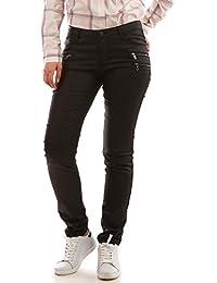 La Modeuse - Jeans slim enduit