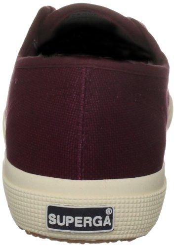 Superga 2750-Cotu Classic, Sneakers Unisex Adulto Rosso (Dark Bordeaux)
