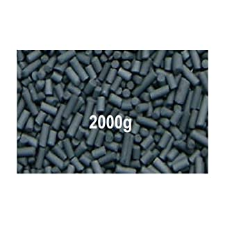 Activated Carbon Fish Tank Filter Media for Aquarium and Ponds 2 KG 41xoG 2BKfrbL