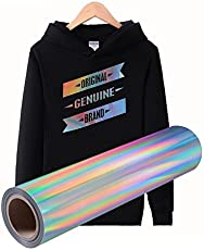 TOTAL HOME Heat Transfer Vinyl 24*24 Inch Hologram sliver rainbow Vinyl decoration film iron on transfers