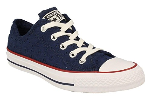 Converse All Star Ox Damen Sneaker Blau Violett