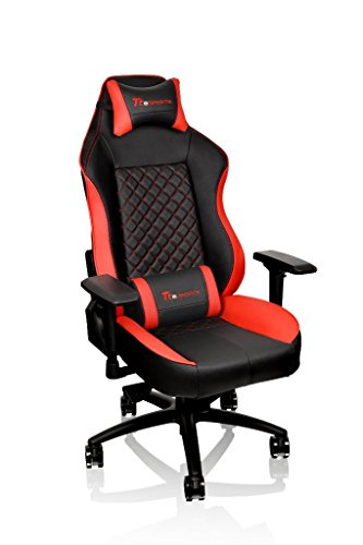 Tt eSPORTS GT-Comfort 500 Gaming Chair GC-GTC-BRLFDL-01, red