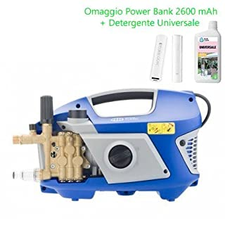 Annovi & Reverberi Pressure washer Line Professional AR 615 portable 130 Bar 2900W with Powder and Power bank FREE