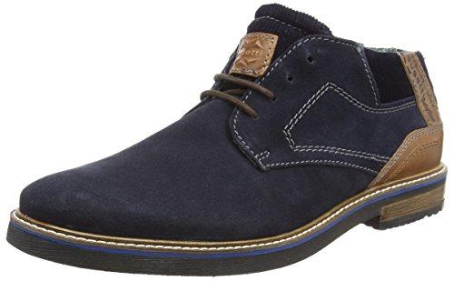 Bugatti Herren 311609311412 Klassische Stiefel, Blau (Dark Blue/Cognac 4163), 43 EU